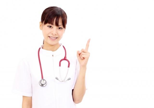 GLP-1の投与頻度を教える看護婦