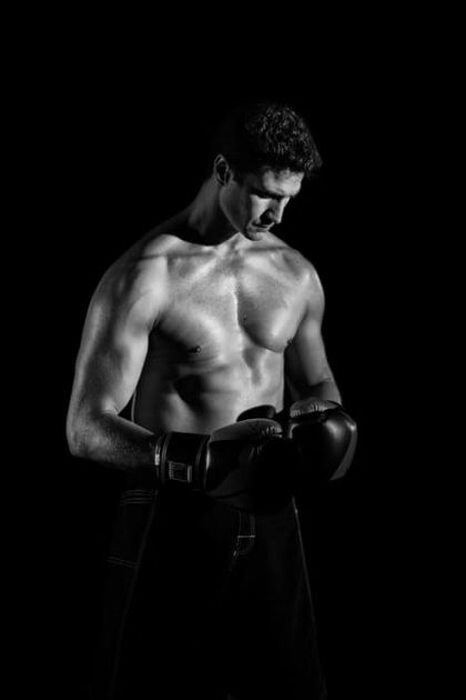 ボクサーの男性