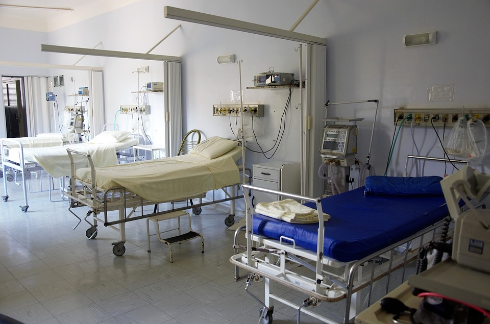 GLP-1 ダイエット クリニック 病室の写真
