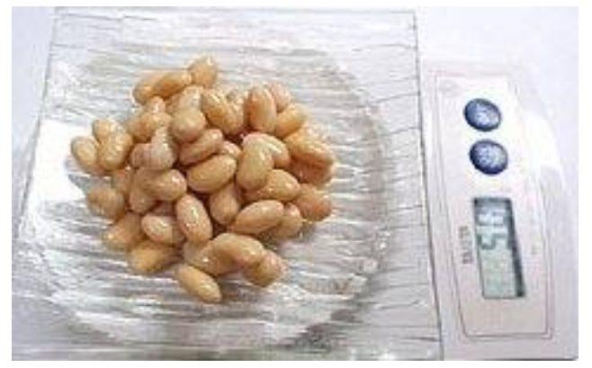 アディポネクチンの効果を得られる50gの大豆
