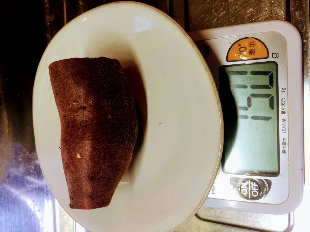 さつまいもダイエットに最適な150gのさつまいも