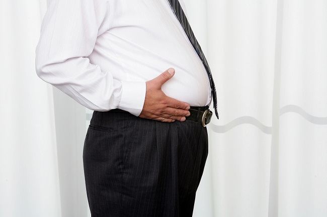 インスリン抵抗性が強い肥満体型