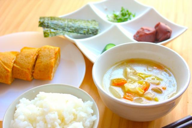 400kcalの朝の定番和食