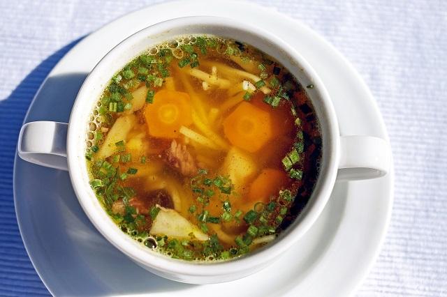 断食ダイエットの回復食のスープ
