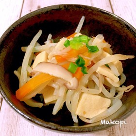 高野豆腐と野菜煮